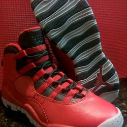 Air jordan x 10 retro bulls ov...