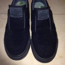 Nike sb janoski black wool