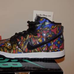 Nike dunk sb x concepts staine...