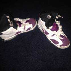 Air jordan 6 s retro purple