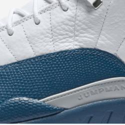 Jordan 12 french blue size 3 5y
