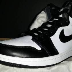 Air jordan 1 retro hi og blk w...