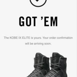 Nike zoom kobe 9 elite ftb siz...