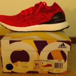 Adidas ultra boost uncaged red...
