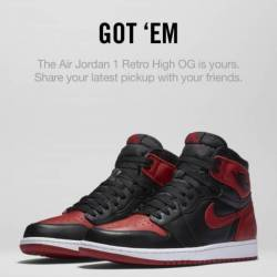 Jordan 1 bred size 10.5 and 11 ds