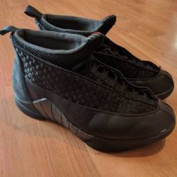 Nike air jordan 15 og black/va...