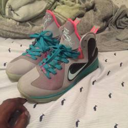 "Nike lebron 9 ""south beach"""