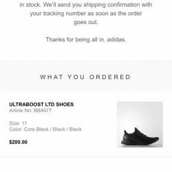 Adidas ultraboost ltd triple b...