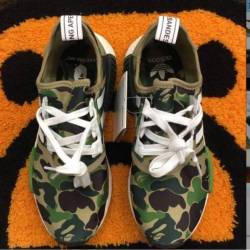Adidas bape nmd size 6.5 ds