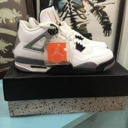 Air jordan 4 retro white cemen...