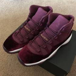 Air jordan 11 red velvet heiress