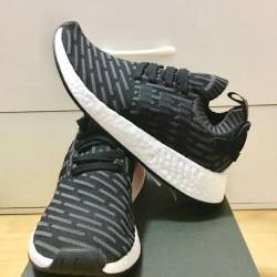Adidas nmd r_2 pk black brown ...