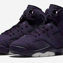 Air jordan 6 retro gs purple d...