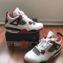 Jordan retro 4 fire red 2012 s...
