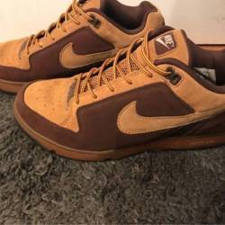 Nike angus dunk low wheat/mapl...
