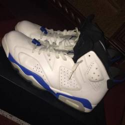 Sports blue 6s