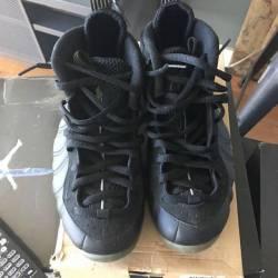 Nike foamposite stealth black