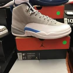 Jordan 12 wolf grey size 8.5 p...