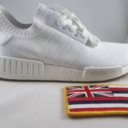 Adidas nmd r1 pk white gum siz...