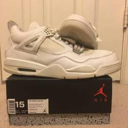 Jordan 4 pure money size 15 (a...