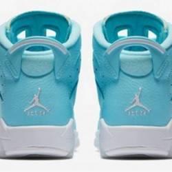 Air jordan 6 gs still blue