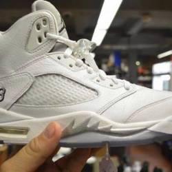 Jordan 5 metallic size 9 and 9...