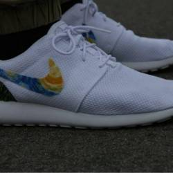 Nike roshe one triple white cu...