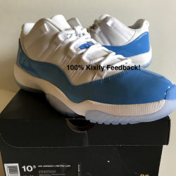 Air jordan 11 low columbia unc