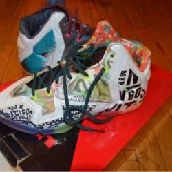 "Nike lebron 11 ""what the"""