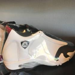 Jordan 14 black toe replacemen...