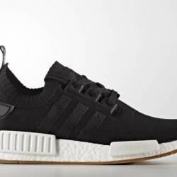Adidas nmd r1 black gum size 1...