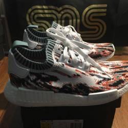 Adidas sns nmd datamosh red