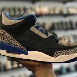 Jordan 3 sport blue size 10.5 ...