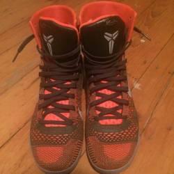 Nike kobe 9 elite sequoia