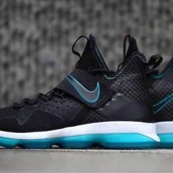 Nike lebron 14 black turquoise