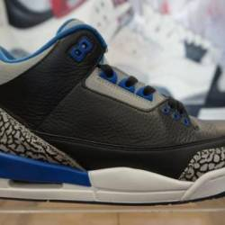"Jordan retro 3 ""sport blue"""