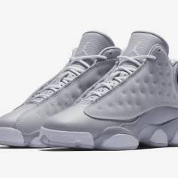 Air jordan 13 gs wolf grey whi...