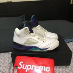 Jordan 5 grape 12
