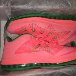Lebron 10 low watermelon
