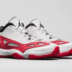 Air jordan 11 low ie fire red ...