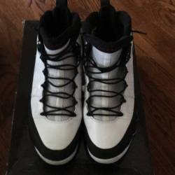 Air jordan 9 white black red