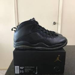 Jordan retro black ovo 10