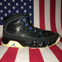 Air jordan 9 photo blue