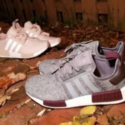 Adidas nmd r1 maroon wool (cha...