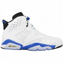 Air jordan 6 retro sport blue ...