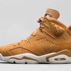 Air jordan 6 wheat golden harv...