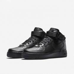 Air force 1 mid black 8-15 men...
