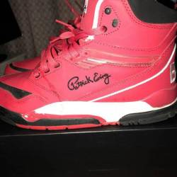Red ewing high top
