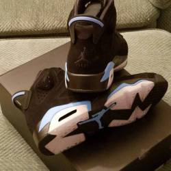 Air jordan 6 retro (unc blue) ...