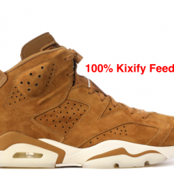 Air jordan 6 golden harvest wheat